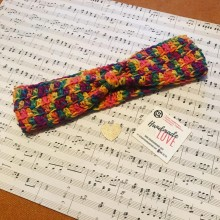 Плетена лента за коса Цветове