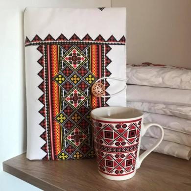 Комплект подвързия за книга и чаша с шевици