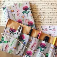 Подаръчен комплект с подвързия за книга и органайзер Билки