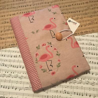 Подвързия за книга Фламинго