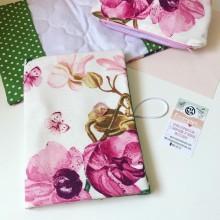 Подвързия за книга Орхидеи