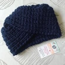 Дамска зимна шапка тип Тюрбан