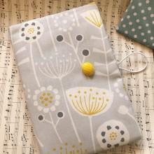 Текстилна подвързия за книга Цветя и билки