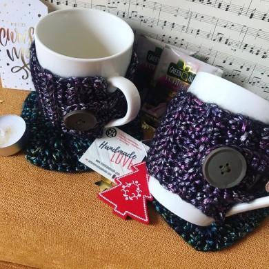 Чаши с дрешки Бронз в подаръчна кутия